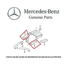 Mercedes W204 A207 C207 S212 V212 W212 Pair Set of Left & Right Air Intake Hoses