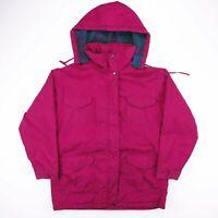 Vintage NORTHWEST TERRITORY Purple Hooded Outdoor Jacket Womens Size Large