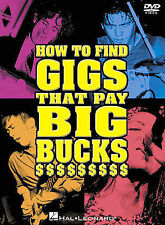 How to Find Gigs That Pay Big Bucks, New DVD, ,