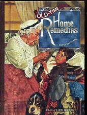 OLD-TIME HOME REMEDIES ~ EDITED KEN TATE ~ STATED 1st PRINTING ~ HC ~ NEW