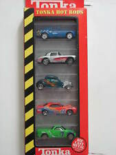 TONKA HOT RODS 5 CAR PACK BOSS MUSTANG FORD CORVETTE CHEVROLET PLYMOUTH
