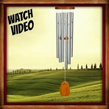 Woodstock AMAZING GRACE LARGE WIND CHIMES - VOTED NO. 2 BEST WIND CHIME! 40 INCH