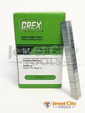 "Grex 20 Gauge Galvanized Staples 3/8"" crown 3/8"" Long - 5M T-50 Rapid 11"