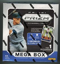 2021 Panini Prizm Baseball SEALED MEGA BOX - 1x AUTO Cosmic Haze *9 PACKS!*