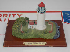 North Head, Wa Lighthouse Premier Edition w/Brass Plate On Cherry Wood Base