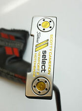 Custom Scotty Cameron Select Newport 2 Notchback Putter + Head Cover