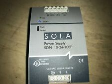 SOLA Power Supply, #10-24-100P, Free Shipping To Lower-48, With Warranty