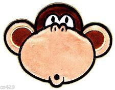 "6"" Bobby jack burst my bubble monkey embroidered fabric applique iron on"