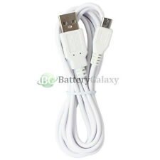 50 Micro USB 6FT Charger Cable for Android Phone Motorola G4 Play Plus Lumia 650
