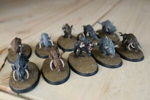 Chaos warhounds Beasts Of Chaos Warhammer Age Of Sigmar Well Painted