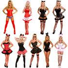 Ladies Halloween Costume Bunny Minnie Wonder Woman Cat Woman Party Fancy Dress