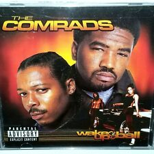 """THE COMRADS WAKE UP AND BALL CD SEALED Priority Records G FUNK 12"""" lp nwa 2pac"""