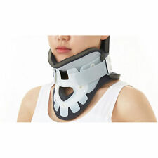 NEW DR. MED ADJUSTABLE CERVICAL TRACTION COLLAR NECK HEAD  BRACE SUPPORT S