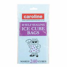 Caroline 10 Self Sealing Ice Cube Bags Makes 240 Cubes