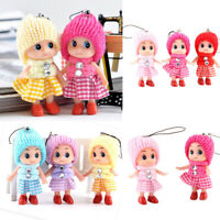 5Pcs Cute Kids Toys Soft Interactive Baby Dolls Mini Doll For Girls and Boys Hot