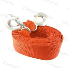 CORDE CABLE SANGLE DE REMORQUAGE 6 M 10 TONNES 10000 KG TRACTION