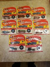 Hot Wheels Silhouette 25th Anniversary Redline Vintage 1992 Lot of 8 Different
