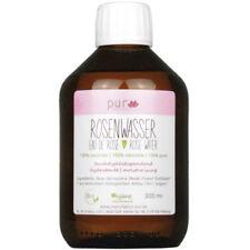 300 ml Echtes Rosenwasser Bio 100% naturreines Rosen-Hydrolat in Glas