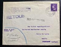 1947 Amsterdam Netherlands First Flight Airmail Cover FFC To Dublin Ireland KLM
