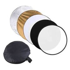 """80cm 5in1 Photography Photo Reflector Light Mulit Collapsible Disc Reflector 32"""""""
