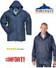 Mens Lightweight Regular Fit Classic Rain Jacket,Medium, Navy,By Portwest
