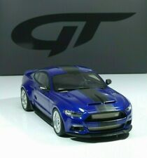 "Ford Mustang SHELBY GT-350 'WIDEBODY"" Edition 2017 blue / black 1:18 GT Spirit"