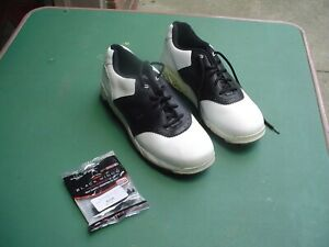 New Balance Model 1250 Men's Size 11.5 Golf Shoes w New Spider Spikies