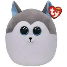 """TY Squish A Boo Slush the Husky Dog 12"""" Pillow Plush New with tags"""