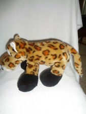 Leopard Spotted Cheetah Large Plush stuffed wild cat Honk Sound Dog Toy Rare