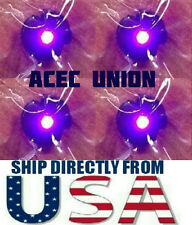 4 X High Quality MG 1/100 QANT Raiser Gundam PURPLE LED Lights - U.S.A. SELLER