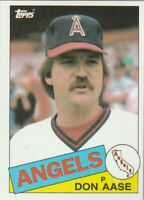 FREE SHIPPING-MINT-1985 Topps #86 Don Aase Angels PLUS BONUS CARDS