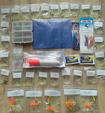 SEA FISHING MIXED RIG PACK 30 rigs, 1 rig Wallet, 2 feathers, Float kit, PLUS