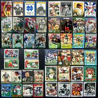 Huge Football Card Set! HOF, Foil, Book, NFL, NCAA, Comic, Poker, Rooks: Lot 129