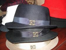 Kangol Kross Pork Pie Hat-3 Colors-S/M/L or X/L-100% Wool, Made In USA