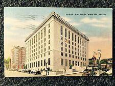 1964 Federal Post Office, Portland, Oregon Postcard