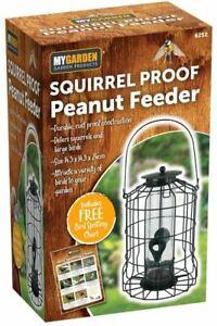 My Garden Bird Peanut Feeder Squirrel Proof Feeding Station