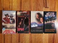 (Lot4) Gone to Texas Sam Elliott 1986 VHS RARE ORIGINAL CLASSIC HTF OOP DRAMA