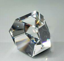 Swarovski Crystal Paperweight Octron 7456 Nr 041 000 Nib W/Coa