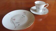 Kaffeegedeck Rosenthal.*Form 2000 *Japanische Kirschblüte* Goldrand *