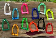 Set of 6 (or 12) Puppy Paracord ID Breeders Whelping Collars w/ Breakaway Buckle