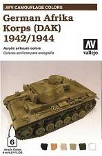 Vallejo German Afrika Korps (DAK) 1942/1944 set 78410