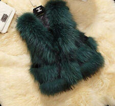 ***BRAND NEW REAL FUR GILET RRP £230 SIZE SMALL WILL FIT 8-12***