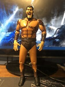 WWF WCW WWE JAKKS CLASSIC SUPERSTARS SERIES 16 GIANT GONZALEZ LOOSE FIGURE