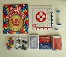 Games Compendium Box Set inc Book cards quiz Board New