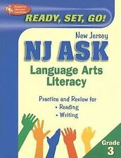NJ ASK Grade 3 Language Arts Literacy (REA) (New Jersey ASK Test-ExLibrary