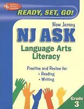 NJ ASK Grade 3 Language Arts Literacy (REA) (New Jersey ASK Test Preparation)