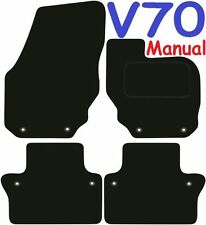 Volvo V70 Manual Tailored car mats ** Deluxe Quality ** 2017 2016 2015 2014 2013