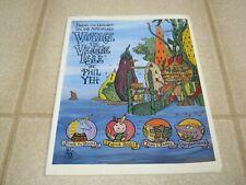 Frank the Unicorn's Island Adventures: Voyage to Veggie Isle, Phil Yeh, 1993