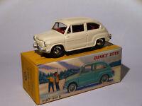 FIAT 600 D beige  ref 520 au 1/43 de dinky toys atlas
