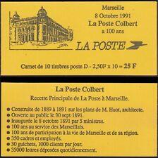 FRANCE CARNET 2712-C1 Marseille la Poste Colbert Marianne de Briat Neuf** TB